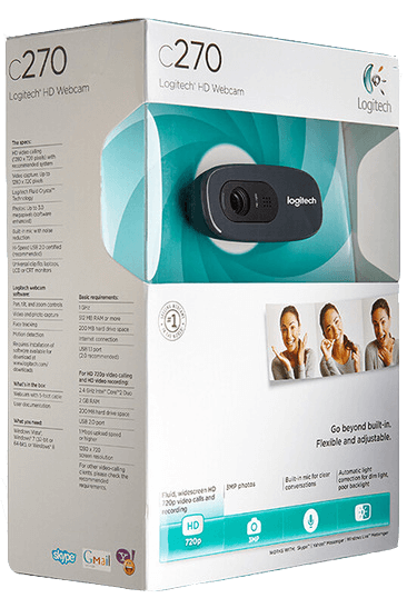 shop online for Logitech C270 HD webcam on sale