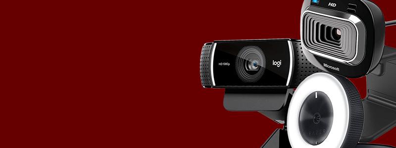 shop online for Logitech webcams on sale